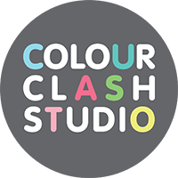 Colour Clash Studio Logo