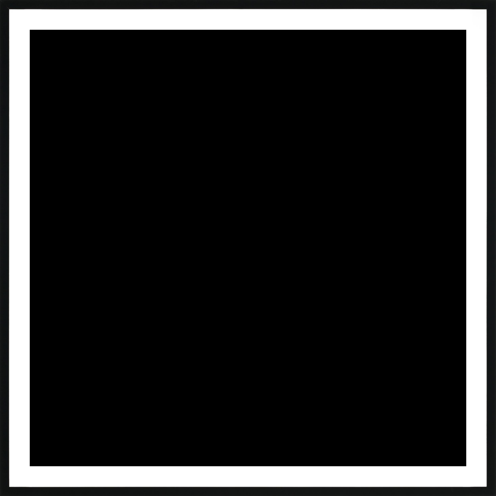 Paper Frame Square Black