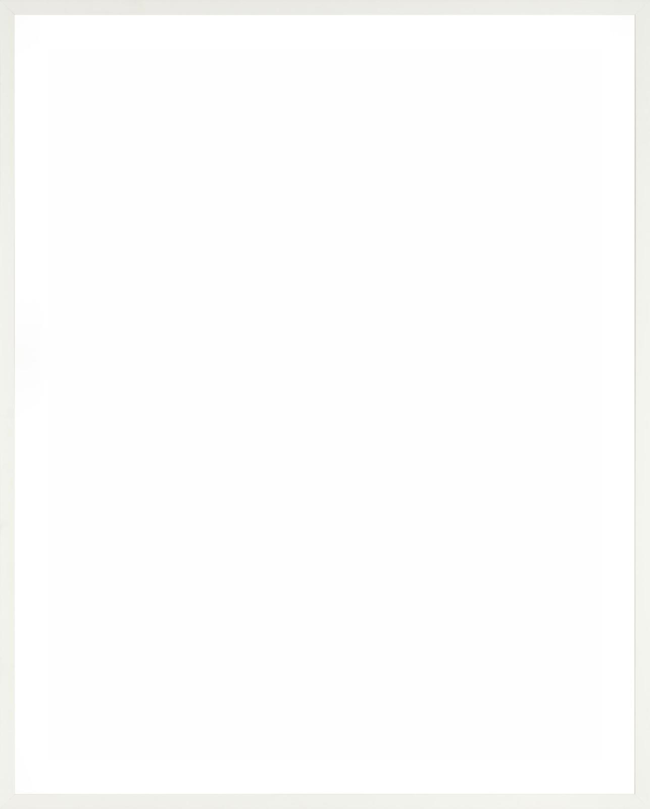 Paper Frame Vertical White